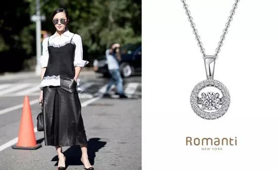 罗曼蒂珠宝让你尽显自信魅力光芒