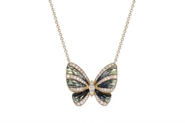 MONETA(墨涅塔)第四代La Mode系列珠宝 呈现蝴蝶律时的璀璨光芒