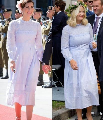 王室撞衫风云 王妃们穿出皇家各路风范