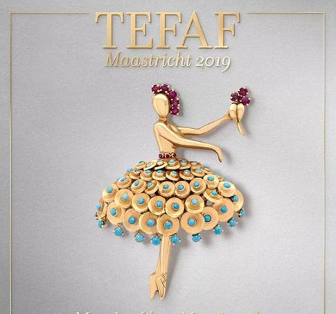 传奇珠宝亮相世家将优雅亮相欧洲艺术和古董博览会