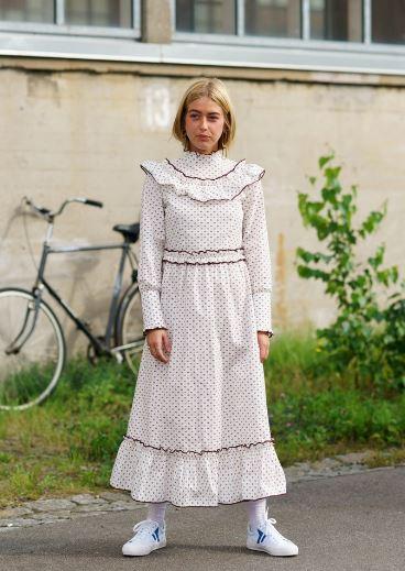 今年最时髦的Prairie Dress了解一下?