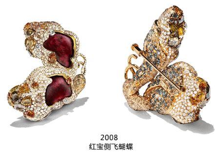 Cindy Chao发布2018年度珠宝 Cindy Chao的蝴蝶艺术