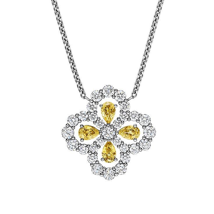 海瑞温斯顿Diamond Loop系列 独特花瓣图美轮美奂