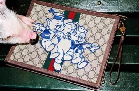 吼吼吼 Gucci2019猪年别注系列包包 真的敲可爱