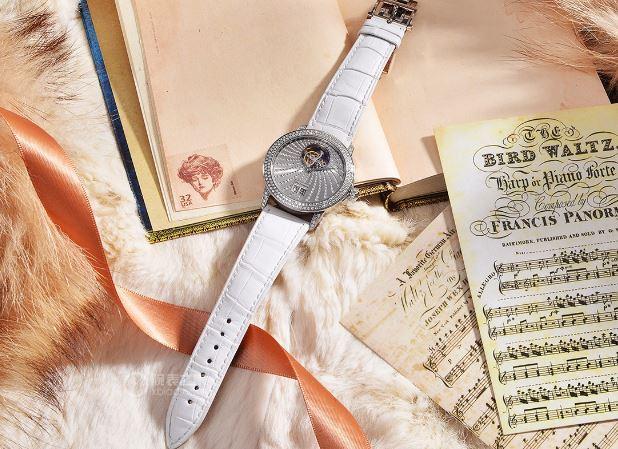 璀璨芳华 宝珀女装系列大日期流星雨钻石陀飞轮腕表