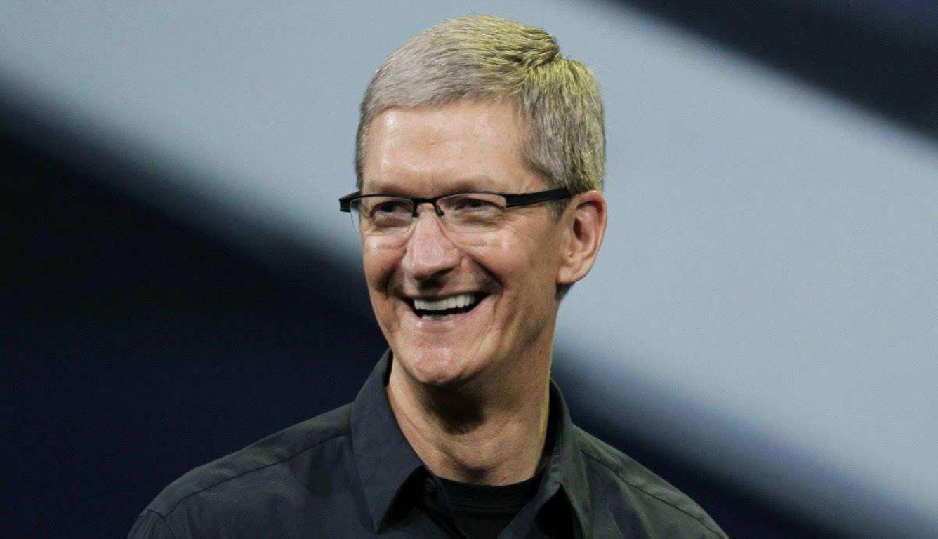 苹果CEO感谢中国能够打开市场大门