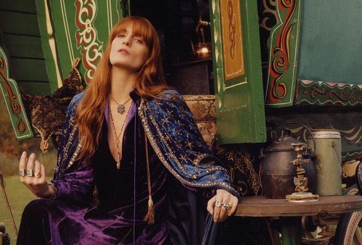 英国歌手Florence Welch成为Gucci全新珠宝形象大使
