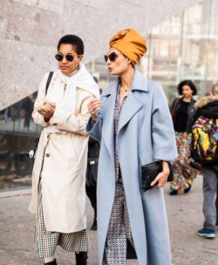 时尚无规则 2019秋冬米兰时装周街拍回顾:质感与色彩的碰撞