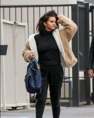 比伯前女友赛琳娜·戈麦斯Selena Gomez洛杉矶最新亚博体育
