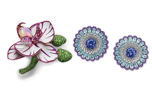 萧邦珠宝公布了新一季珠宝作品