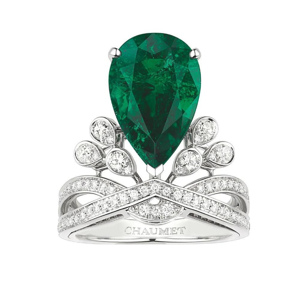 尚美巴黎Chaumet珠宝新作 再现经典的「吊钟花」元素