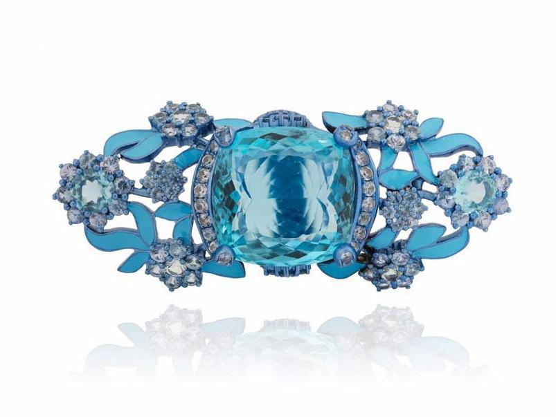法国珠宝设计师Lydia Courteille新一季珠宝 以法国王后传奇故事为灵感