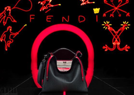 当代主义的不规则解构 FENDI男士PEEKABOO X-LITE手袋