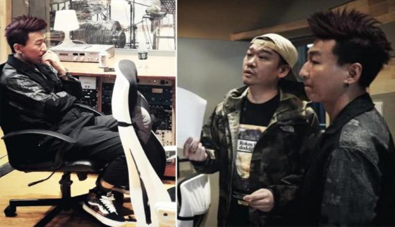陈羽凡现身录音棚 这是要复出的节奏?