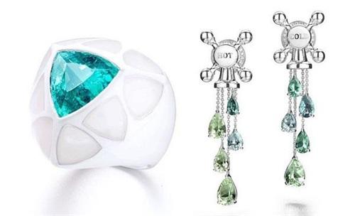 瑞士珠宝设计师 Suzanne Syz 推出新一季珠宝作品