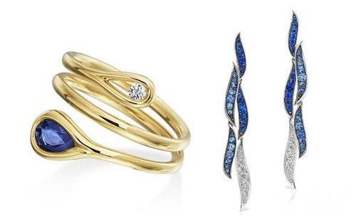 珠宝设计师Maria Canale推出2个以「水」为主题的作品:「Drop」和「Wave」