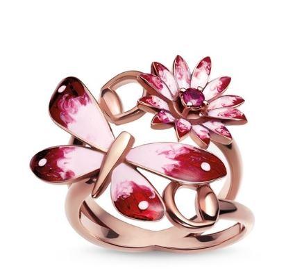 珠宝与花的结合 没有女人能够抗拒