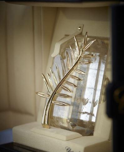 金棕榈奖杯 Chopard萧邦悉心打造电影界弥足珍贵的奖杯