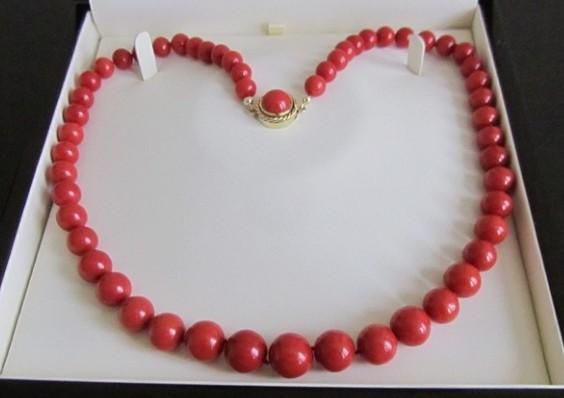 红珊瑚项链怎么选