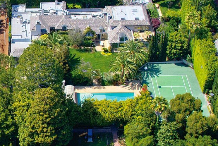 美国富人区比佛利山庄的那些明星豪宅
