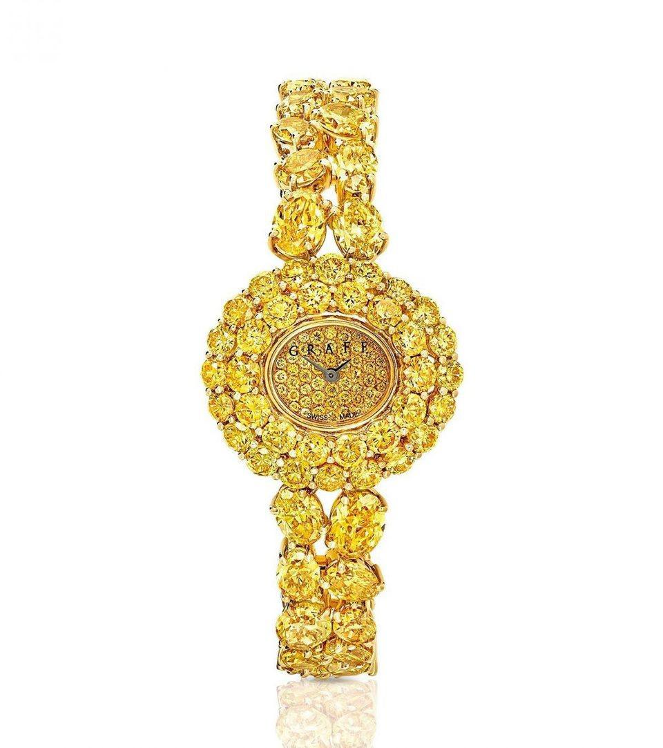 格拉夫高级珠宝腕表新作亮相巴塞尔表展