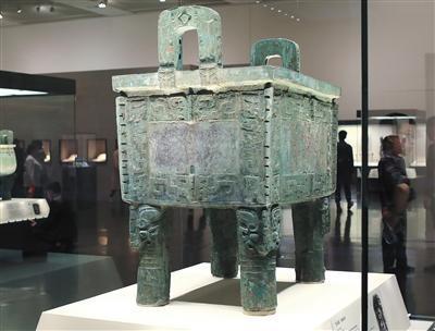 """国博重新开放 三大国宝在""""古代中国""""展厅聚首"""