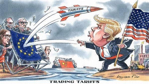 欧盟成员国初步同意 与美国正式展开贸易谈判