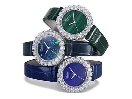 萧邦珠宝推出 Baselworld的3枚预热珠宝腕表