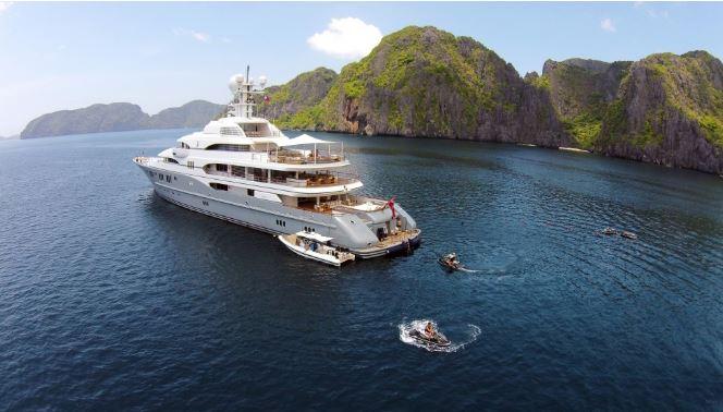 Lürssen 78.5米超级游艇TV的不寻常旅程