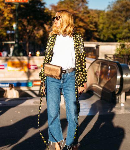 """牛仔裤款式太多挑花眼?直筒裤拥有当今""""顶级流量"""""""