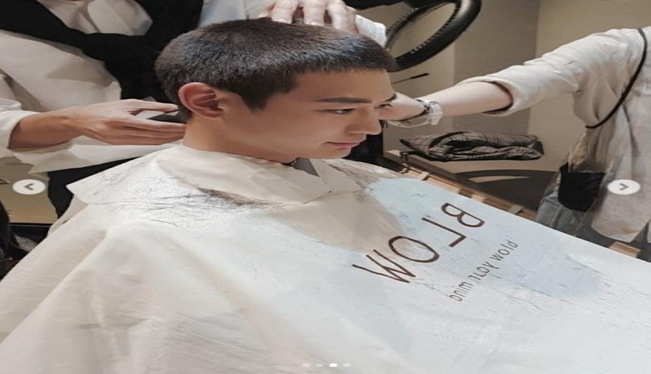 崔珉豪入伍 正式开始将近两年的军营生活
