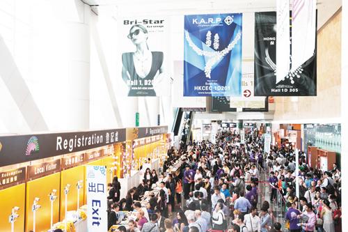 32届香港珠宝首饰展览会将有2000家参展商参展