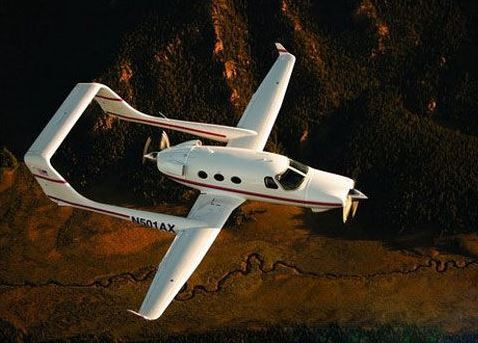 独特的飞机设计:外形最怪异的私人飞机