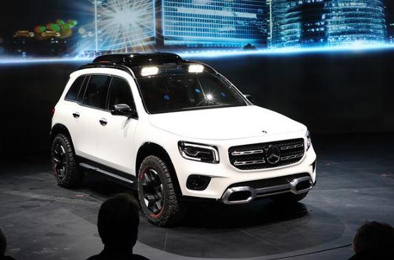GLB概念车/国产EQC等 奔驰发布3款全新SUV