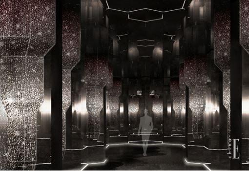 52,800颗施华洛世奇水晶打造设计师梁志天全新艺术装置