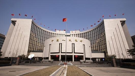 中国央行今日净投放1600亿元