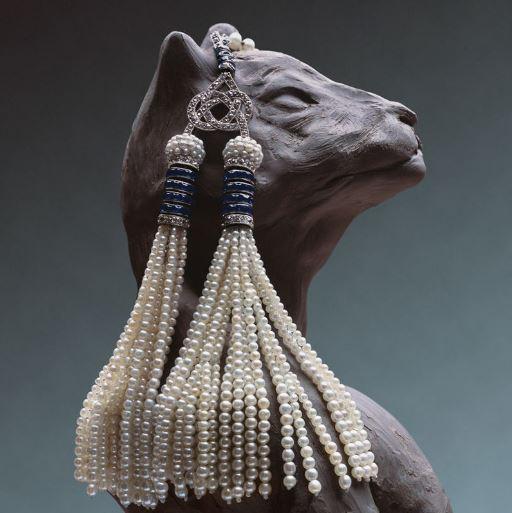 经典的复古回归 摇曳生姿的流苏珠宝