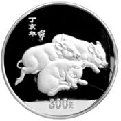 聊一聊第三轮生肖猪金银币