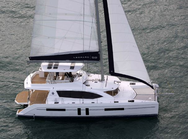 Leopard 58双体帆船:深海巡航与商务休闲两不误