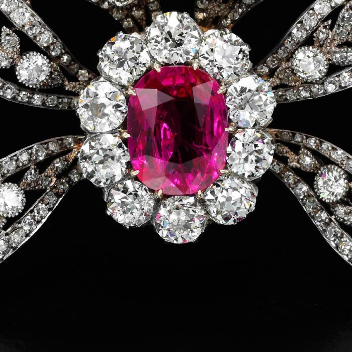 揭秘波旁·帕尔马家族皇室珠宝红宝石胸针背后的故事