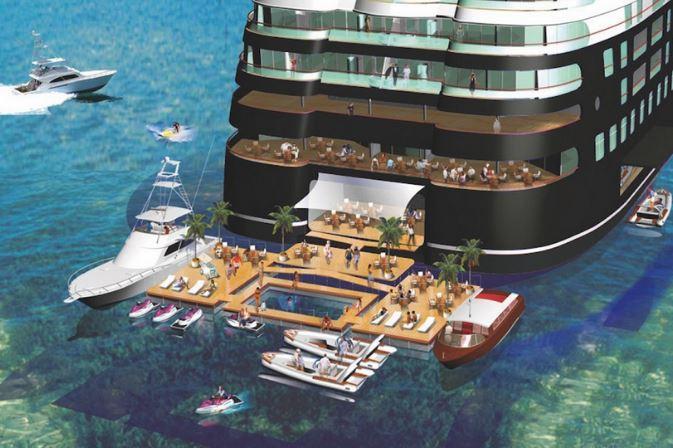 Quintessentially One概念游艇 未来的理想海上家园