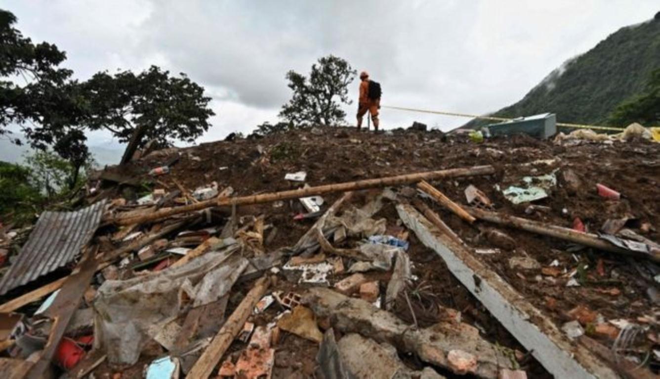 哥伦比亚山体滑坡 救援人员表示伤亡人数或会进一步上升