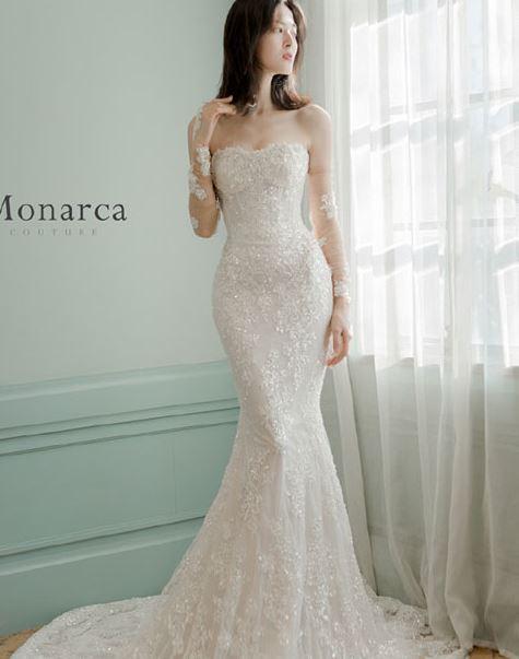 Monarca集成店高定婚纱系列 击中新娘内心