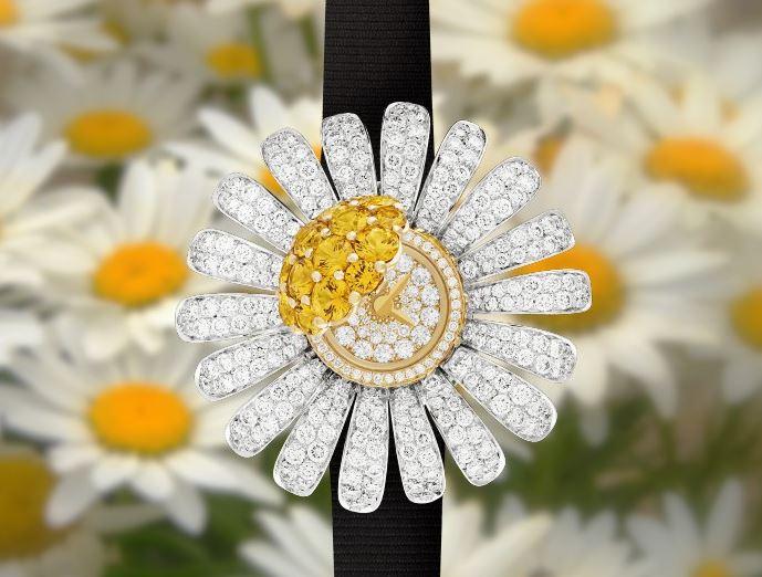 它是腕表中的花仙子 梵克雅宝花卉珠宝系列