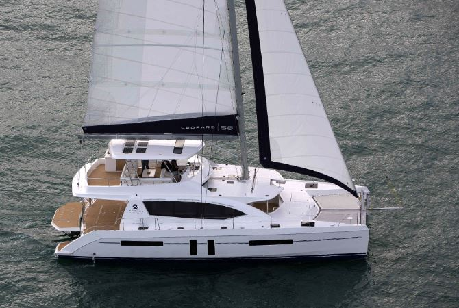 Leopard 58双体帆船:深海巡航与商务休闲两不耽误