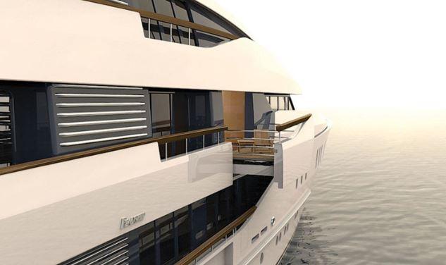 盘点那些让人设计绝美的游艇阳台