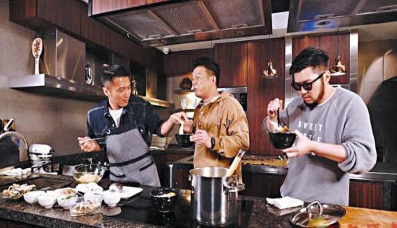 谢霆锋称下厨是一种修行 最喜欢的台湾美食是姜母鸭