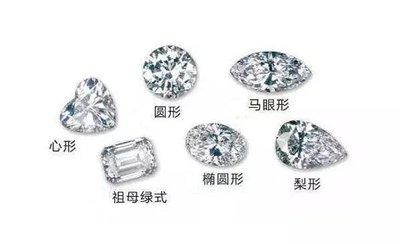异形钻石种类