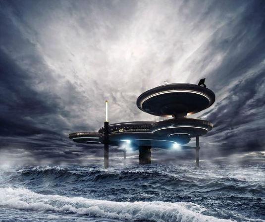 迪拜海底酒店:住在十星级酒店是什么体验?