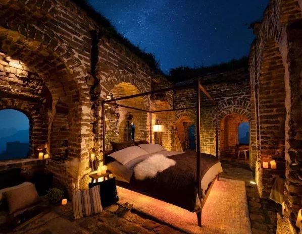 Airbnb在长城建民宿  烽火台上仰望星空